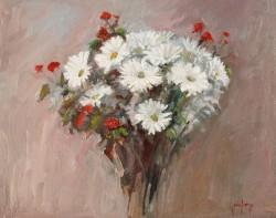Daisy Impressions by John Horejs