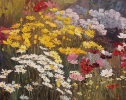 Yellow Daisy Garden