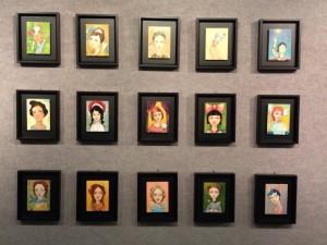 Framed Originals by Cassandra Barney