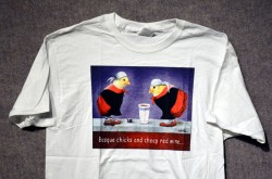 Basque Chicks Wine T-web