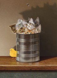 Cats in a Can 1, 3/21/03, 3:58 PM,  8C, 5902x3938 (44+2183), 100%, Cats in a Can,  1/30 s, R84.2, G63.3, B82.3