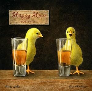 We Love 'cheep' Happy Hour