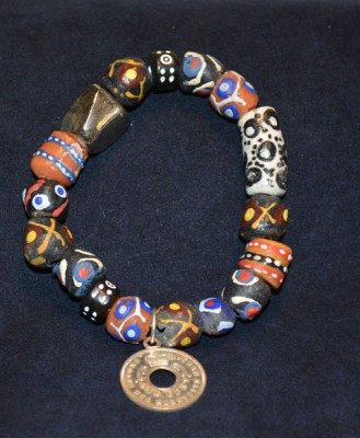 Aruba Bead with Coin