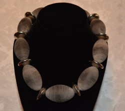 Cow Horn Necklace