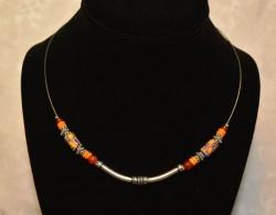 Orange Trade Bead