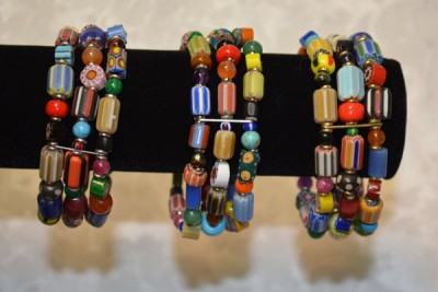 3 Strand Mixed Beads of Africa