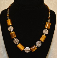Yellow Square Tigers Eye