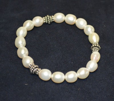 Pearl with Silver