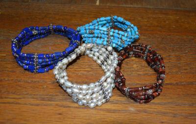 5 Strand Stone Bracelet