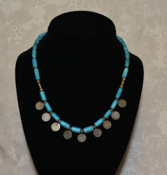 Turquoise with Amulet