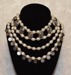 Pearl Masai Collar