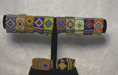 Beaded Maasai Stretch Bracelet