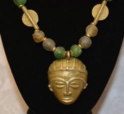 Green Gashi with Mask Detail