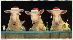 Fleece Navidad, by Will Bullas, at Gallery 601