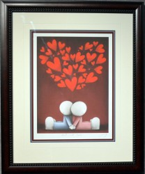 hearts and smiles framed