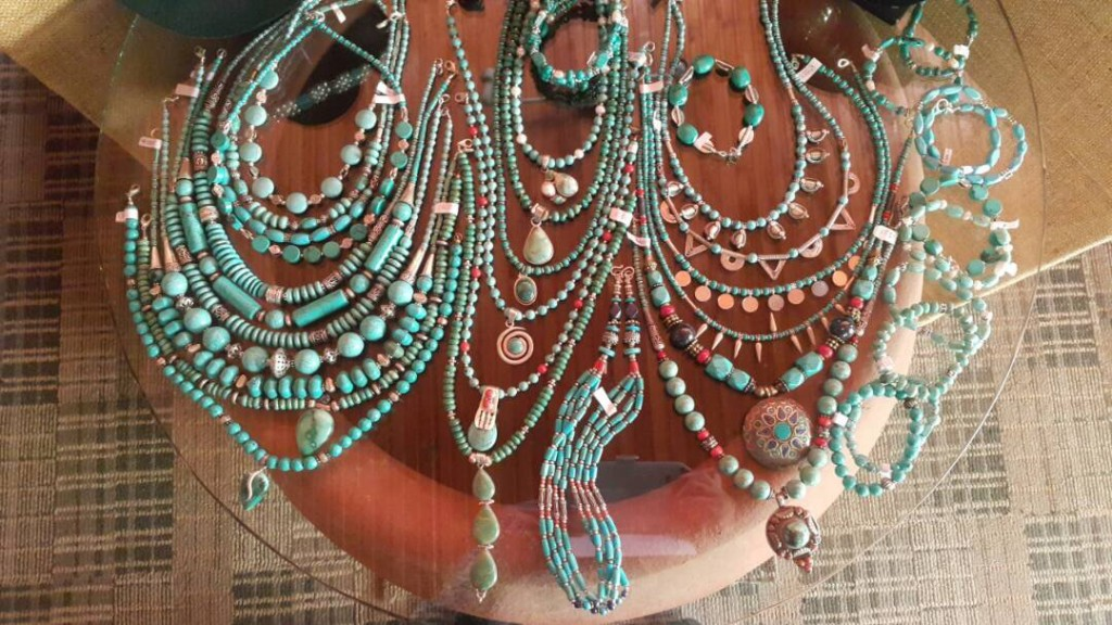 The African Collection, Turquoise and Coral