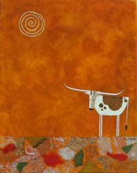 Longhorn-with-Burnt-Orange-