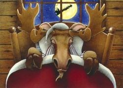Not a Creature Was Stirring, by Will Bullas, by Gallery 601