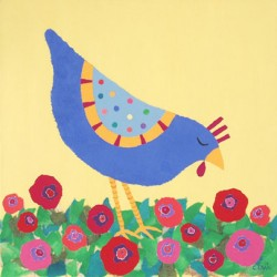 Pecking-by-the-Poppies