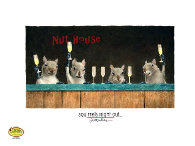Squirrels Night Out PETITE