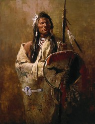Status Symbol by Howard Terpning