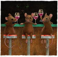Three Wined Mice Front