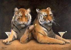Tiger Bar, by Will Bullas, at Gallery 601
