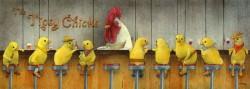 Tipsy Chicks, by Will Bullas, at Gallery 601