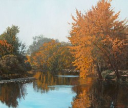 Touch of Autumn--Boise River