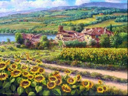 Tuscany Sunflowers web