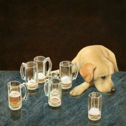 What's That in Dog Beers?, by Will Bullas, at Gallery 601