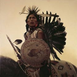 Young Plains Indian
