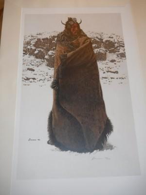 blackfeet war robe