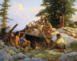 camp at cougars den