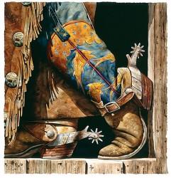 cowboy fishin boots