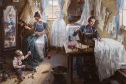 Dressmaker's Shop, 1886