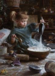 M. Weistling, Flour Child at Gallery 601