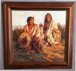 Medicine Shields of the Blackfoot framed