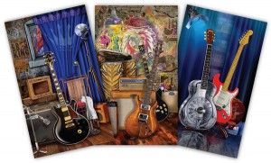 Brian Florence, guitar art