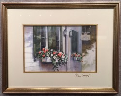 paul cape cod flower boxes framed
