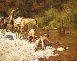 prospectors among the blackfeet