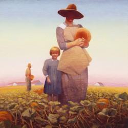pumpkin gatherers