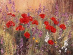 wildflower musings 48x36